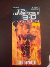 "TERMINATOR 2 3-D COLLECTORS EDITION T-800 12"" FIGURE"