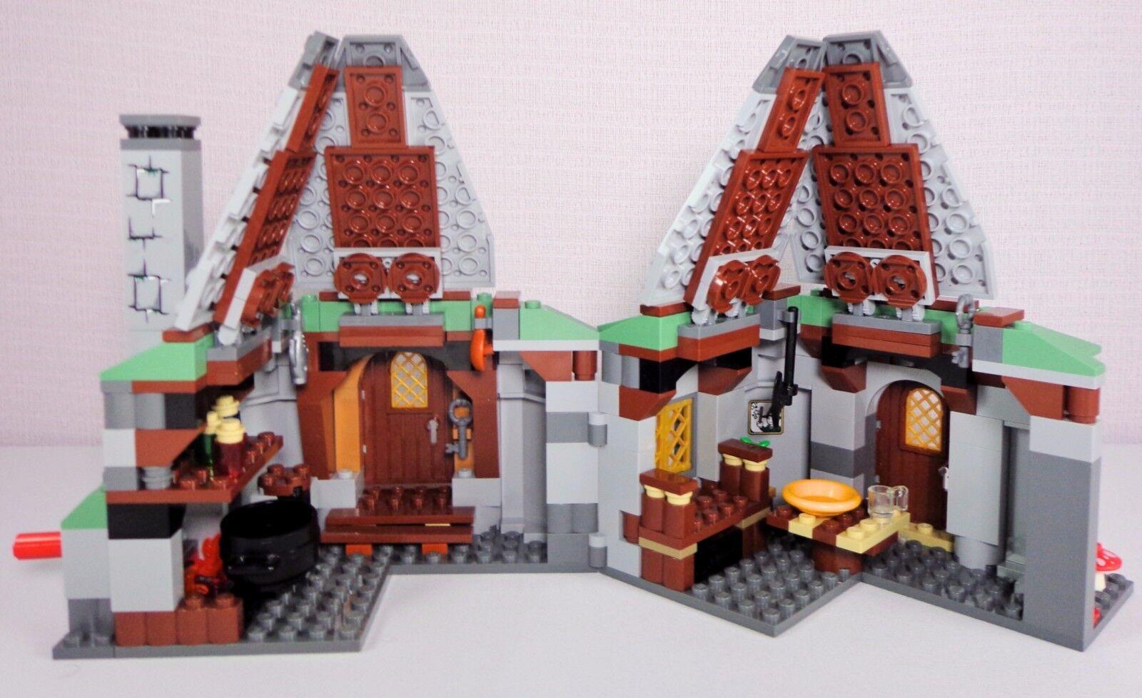 Lego Harry Potter 4738 Complete Set Set Set Hagrid's Hut 3rd