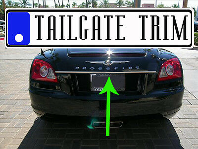 Chrysler CROSSFIRE 04 05 06 07 08 Tailgate Trunk Trim