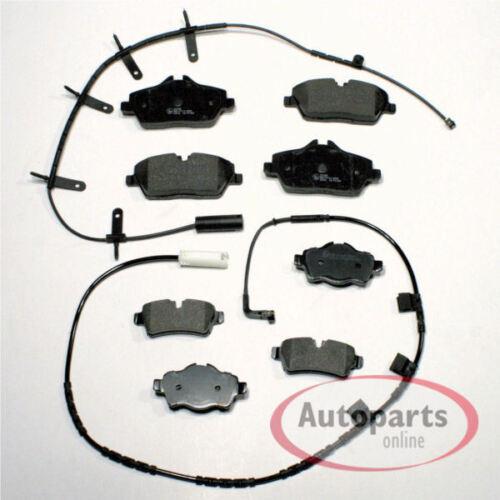 Bremsbeläge Bremsen mit Warnkabel für vorne hinten BMW 1er E81 E82 E87 E88