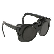 Flip Up Front Welding Goggles Safety Glasses Dual Lens Eye Cup Use For