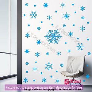 100-Snowflake-stickers-Christmas-wall-decoration-Snowflake-wall-sticker