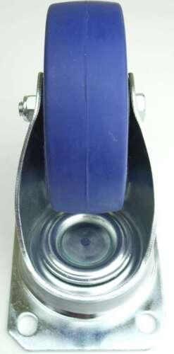 8 Rollen SL 100 mm Blue Wheel Lenkrollen Transportrollen Schwerlastrollen Wheels
