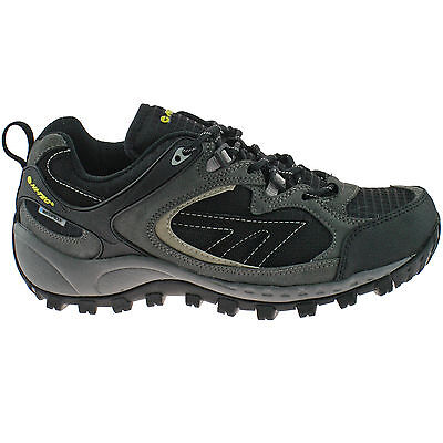 MENS HI-TEC WATERPROOF HIKING SHOES SIZE UK 7 - 12 SUEDE ORTHOLITE SOUTH TRAIL