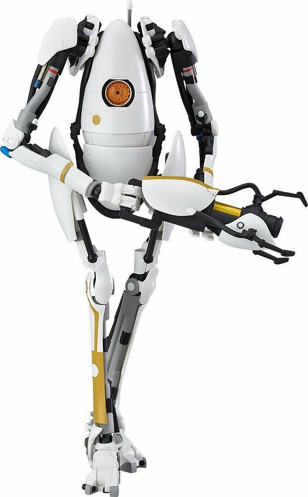 Good Smile Company Portal 2  P-Body Figma painted action figure  nouvelle exclusivité haut de gamme
