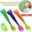3pcs Soft Safe Baby Temperature Sensing Spoon Set for Toddler Infant Feeding