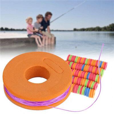 20Pcs Foam Winding Board Fishing Line Spools Tool Bobbin Tackle Accessories