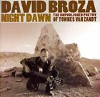 Night Dawn: The Unpublished Poetry of Townes Van Zandt by David Broza (CD, Feb-2010, S-Curve (USA))
