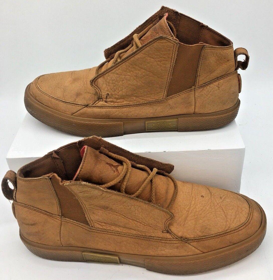 Vintage Nike Air Jordan V2 Grown Cognac Gum Medium Medium Medium Brown Size 10.5 414174-203 f28f1d