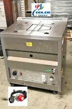 New 25l Deep Propane Fryer With Thermostat Or Natural Gas