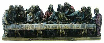 9 Inch The Last Supper Statue Figure La Ultima Cena de Jesus Cristo Christ
