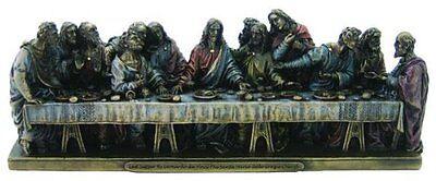 9 Inch The Last Supper Statue Figure La Ultima Cena de Jesus Cristo Christ