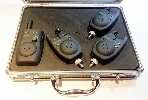 Pelzer the Executive Radio-morso indicatore-Set 3+1 incl. VALIGETTA in alluminio