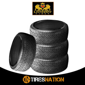 4-New-Lionhart-LH-Eight-295-30R26-107W-High-Performance-All-Season-Tires