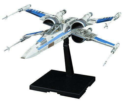 Star Wars X-Wing fighter resistance Force Awakens 1 72 Bandai Plastic Model