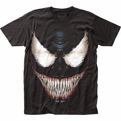 Venom Sinister Smile Marvel Licensed Adult T Shirt