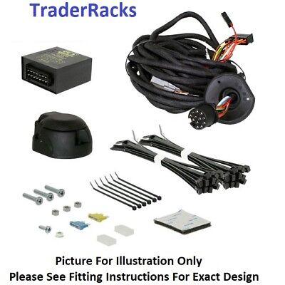 13 to 7 Pin Trailer Truck Electric Towing Converter Tow Bar Plug Adaptor /_Lefan