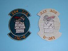 b6439 Vietnam US Air Force Gun Ship 504 TIS FAC U