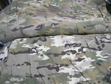 """Poorly dyed Army multicam camo pattern heavy cotton poly fabric 1 yd x 62"""" wide"""