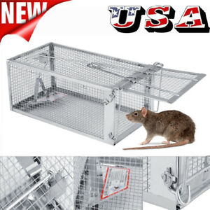 Rodent-Animal-Mouse-Humane-Live-Trap-Hamster-Cage-Mice-Rat-Control-Catch-Bait-US