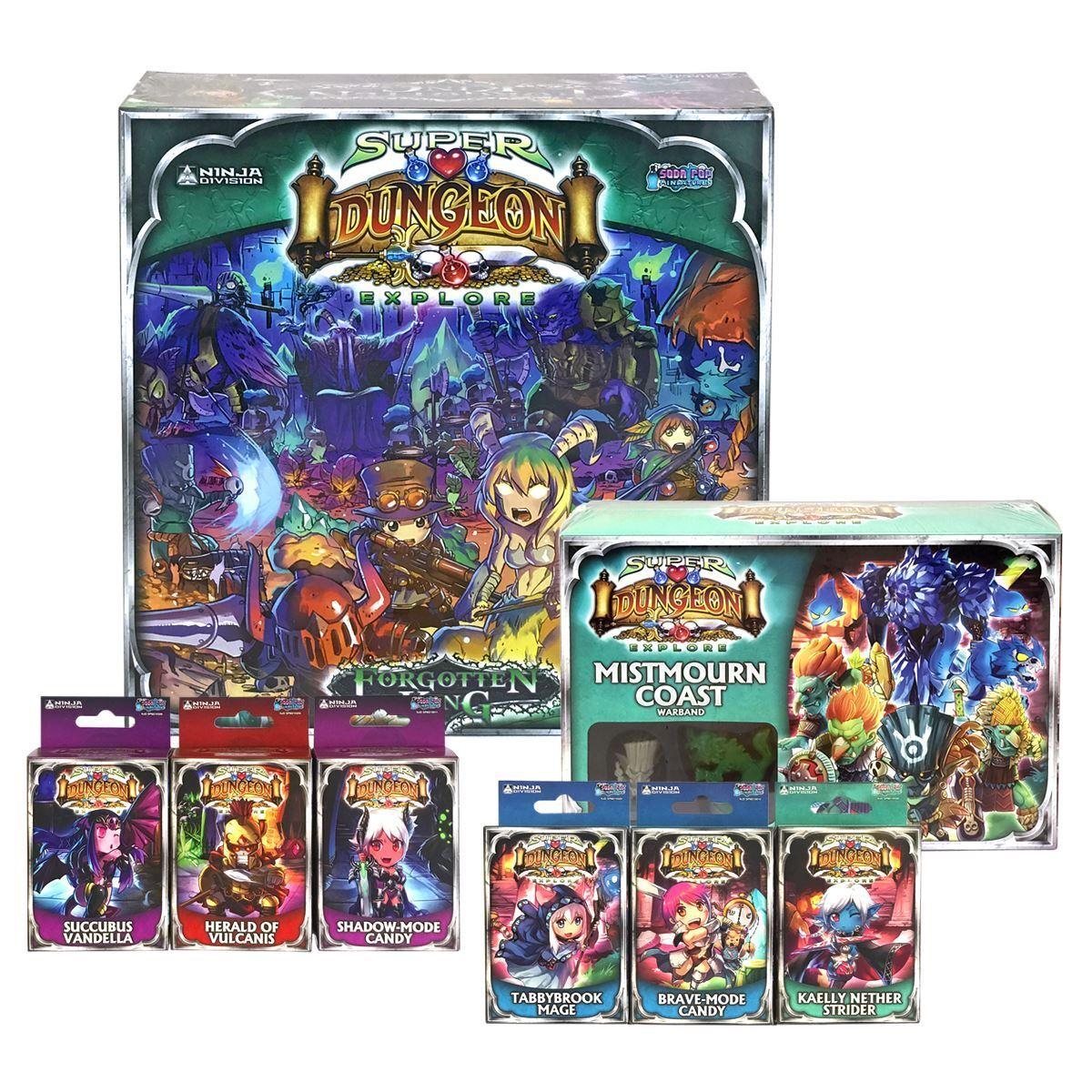 Nouveau Super Dungeon Explore Paquet Oublié King Board Mistmourn Mistmourn Mistmourn Modèles Officel 0037a0