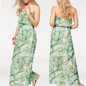 3a17ba43c4901d Bandeau MAXI Strandkleid Kleid Gr.40/42 L/XL Maxikleid Sommerkleid ...