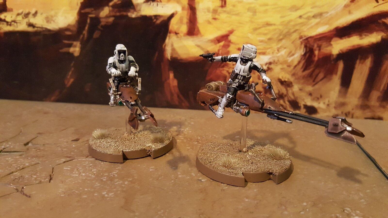 Star wars legion 74-Z speeder pro painted made to order