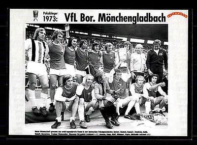 Borussia Mönchengladbach Mannschaftskarte DFB Pokalsieger 1960