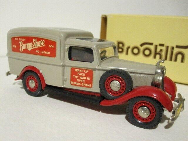 Brooklin modelos BRK 16 1936 Dodge Van Burma Shave (Nueva)