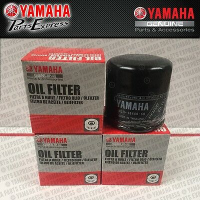 NEW GENUINE YAMAHA XV 950 1300 1900 STAR BOLT 2 PACK OIL FILTERS 5GH-13440-61-00