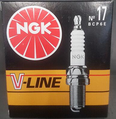 CANDELA D/'ACCENSIONE V-LINE 17 NGK SPARK PLUG BCP6E STOCK NUMBER 6237