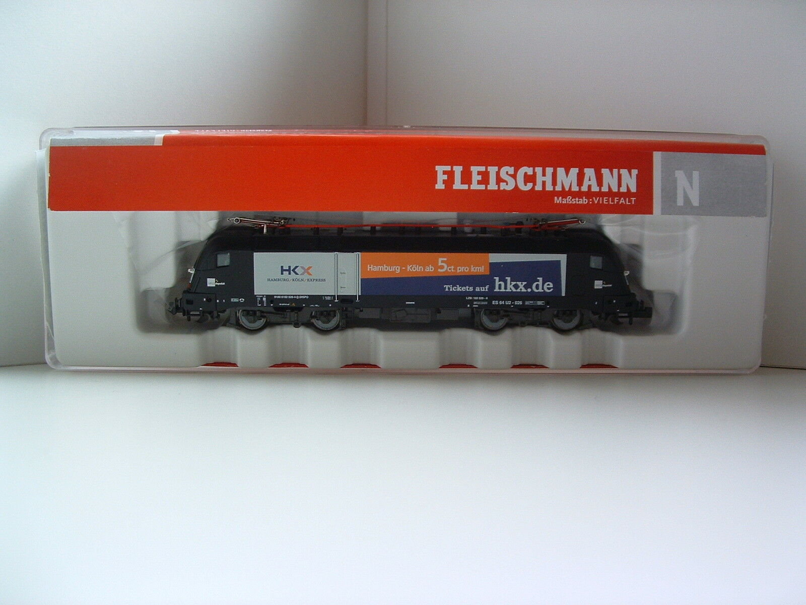 Fleischmann N 731177 E-Lok es 64 u2-026 HKX. de EP. vi Digital Sound OVP n2