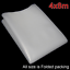 300G Greenhouse Pollytunnel Cover 4 Metre Clear Plastic Film Sheeting Heavy duty