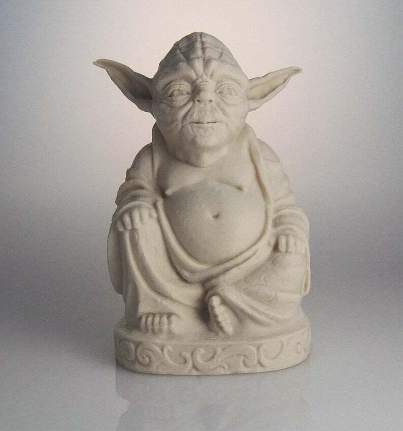 Yoda Buddha   Stern Wars   Desert Sand