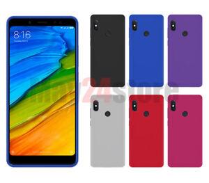 Funda-gel-lisa-Xiaomi-REDMI-NOTE-5-protector-cristal-opcional