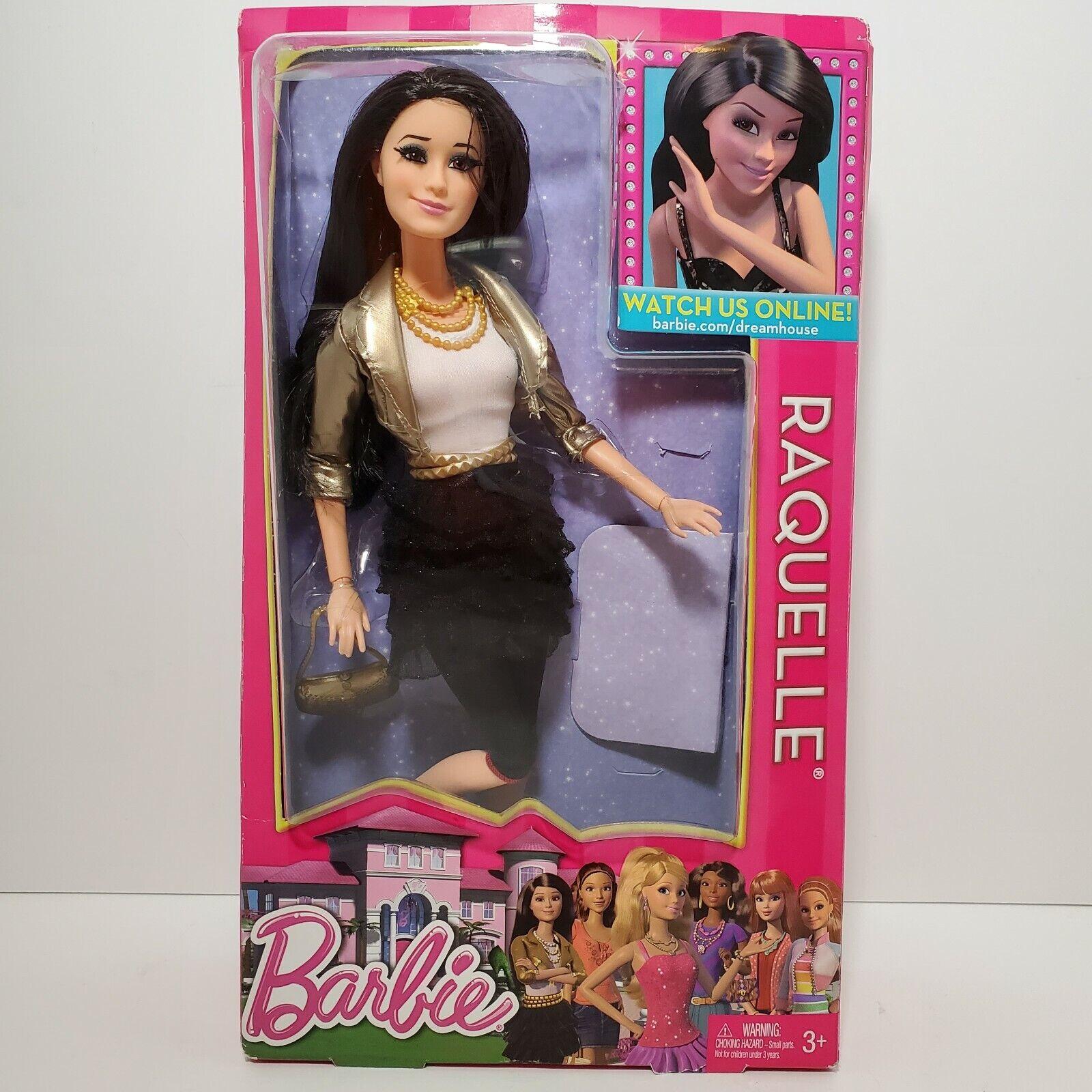 2015 Mattel Barbie Doll Raquelle Rooted Black Hair Model DGT80 for sale online