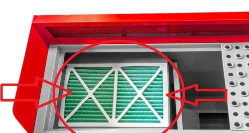 Holzmann Ersatzfilter für Absaugtisch SSAT1000 Filter Absaugfilter