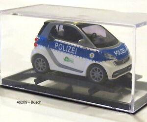 "/""Beverly Hills Police/"" 1:87//H0 NEU//OVP 2012 Busch 46223 Smart Fortwo Coupé"