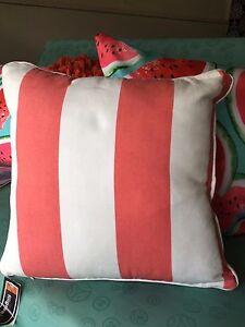 Nautical-Striped-Newport-cushion-cover-Beach-Look-Zaab-Homeware-Watermelon
