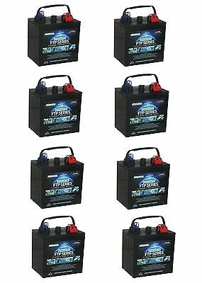 8 x  6 Volt Powabloc T105 Deep Cycle Battery (FFP6210)