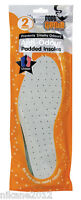 anti odour padded insoles  lot  inner sole size 3/4/5/6/7/8/9/10/11 unisex new