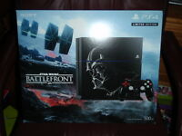 Ps4 Starwars Battlefront Limited Edition 500gb Brand