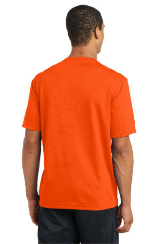 Mens Sport-Tek Micro Mesh T-Shirt Dri Fit Performance Moisture Wicking Tee ST340