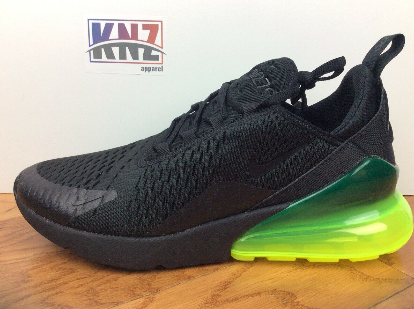 NEW MEN'S NIKE AIR MAX 270 Black Volt size size size 8.5