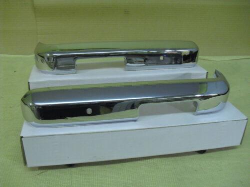 Ford Escort Mk2 DELANTERO TRIMESTRE PARACHOQUES Cromo En Acero 1//4 Par 25-19-90-3//4