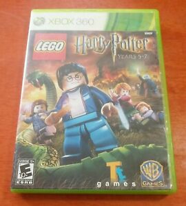 LEGO Harry Potter Years 5-7 Microsoft Xbox 360 Traveller's Tales TT Games WB