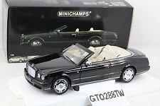 Minichamps 1:18 scale Bentley Azure Cabriolet 2006 (Black Metallic) RARE
