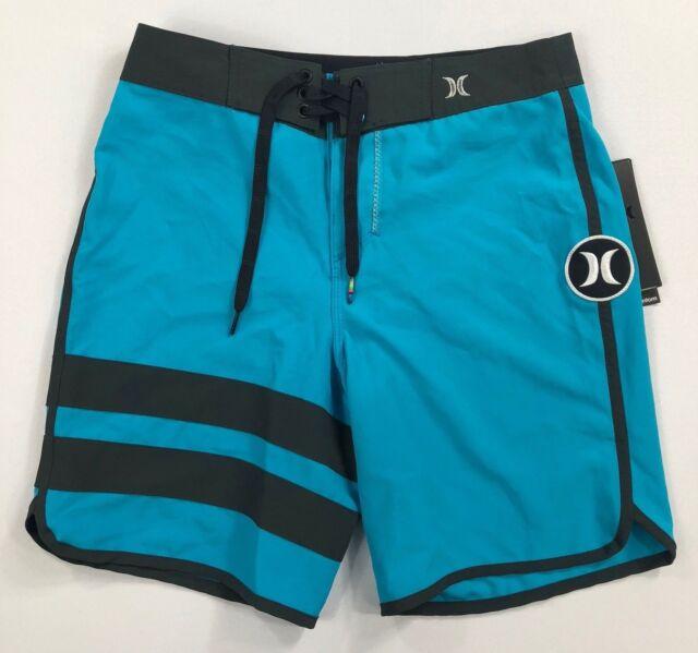 e95f6e8379 Hurley Big Kids Boys Youth Phantom Block Party Board Shorts Size 25 ...