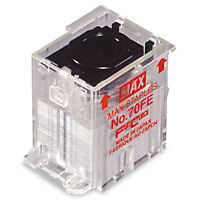 Max Staple Cartridge For Eh-70f Flat-clinch Electric Stapler 5 000/box No70fe on Sale