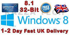 Microsoft Windows 8.1 32-bit OEM English International DVD GENUINE Full Version